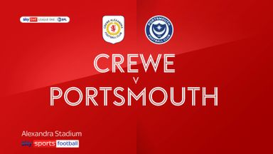Crewe 0-0 Portsmouth
