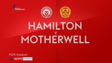 Hamilton 0-1 Motherwell