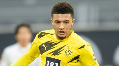 Sancho returns to Dortmund training