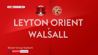 Leyton Orient 0-0 Walsall