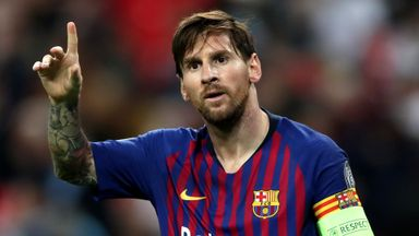 Man City, PSG 'top two' destinations for Messi