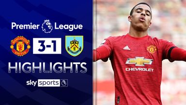 Greenwood stars as United beat Burnley