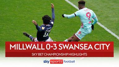 Millwall 0-3 Swansea
