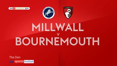 Millwall 1-4 Bournemouth