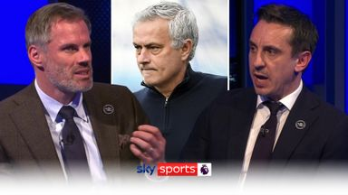 Carra, Nev shocked by Mourinho sacking