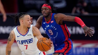 NBA Wk17: Clippers 100-98 Pistons