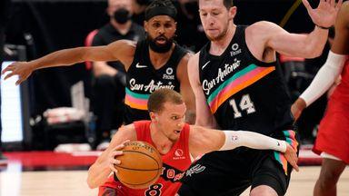 NBA Wk17: Spurs 112-117 Raptors