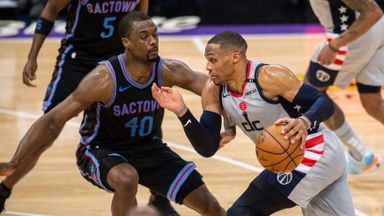 Westbrook hits sixth straight triple-double