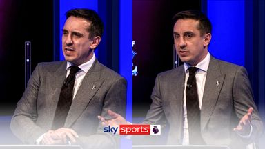 Neville: Arsenal's front six were a joke