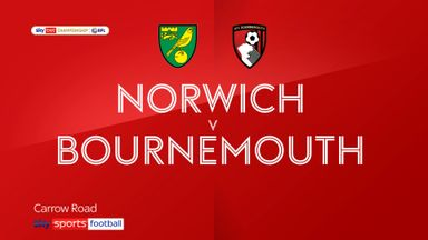 Norwich 1-3 Bournemouth