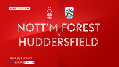 Nottingham Forest 0-2 Huddersfield