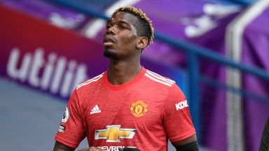 No contract talks for Pogba with Utd yet