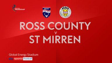 Ross County 1-3 St Mirren