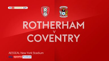 Rotherham 0-1 Coventry