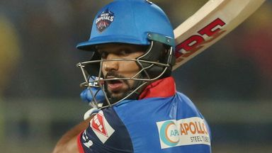 Dhawan hits 92 off 49 balls in Delhi win