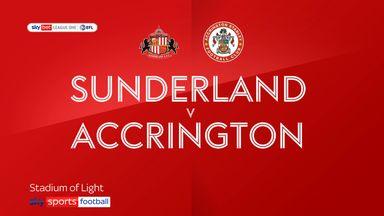 Sunderland 3-3 Accrington