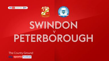 Swindon 0-3 Peterborough