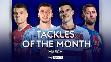 PL Tackles of the Month: March