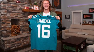 Jaguars select Lawrence as first draft pick