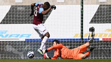 Calamitous Hammers! Diop scores OG as Dawson sees red