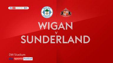 Wigan 2-1 Sunderland
