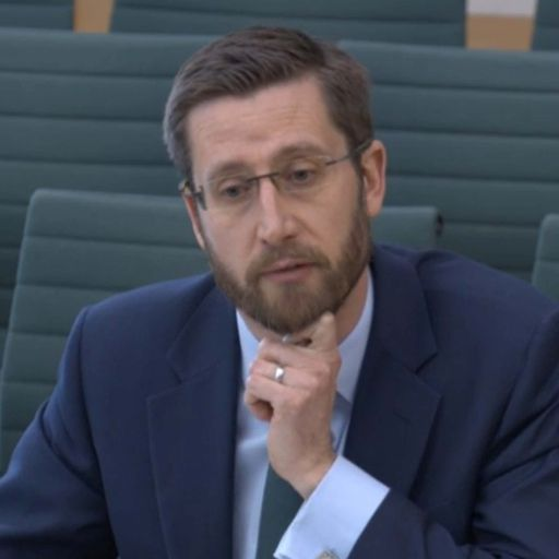Simon Case on 'chatty rat'