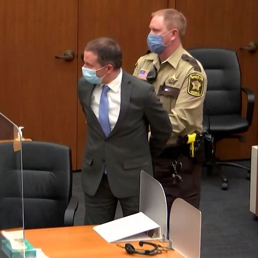 George Floyd murder: Biden says Chauvin guilty verdict can be 'moment of significant change'