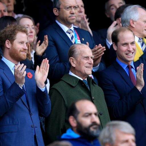 William and Harry united in their respect for their Grandpa, the Duke of Edinburgh