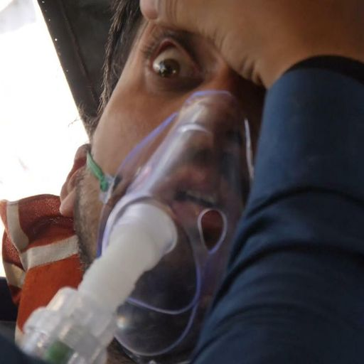 People left to beg and barter for air in India's coronavirus crisis