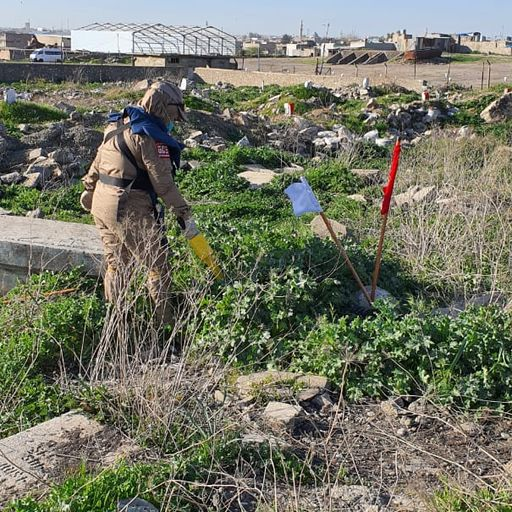 'Gentle steps forward' in restoring Mosul's Commonwealth war cemetery