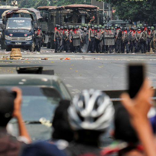 Inside Myanmar: The battle between smartphones and snipers