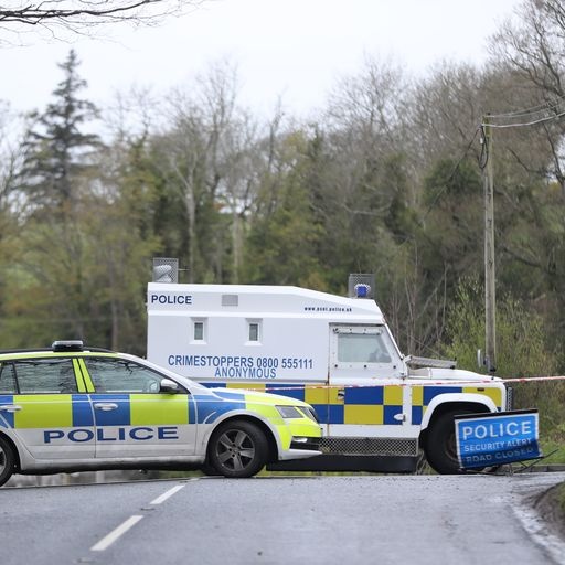 Policewoman escapes murder attempt after bomb found outside her home