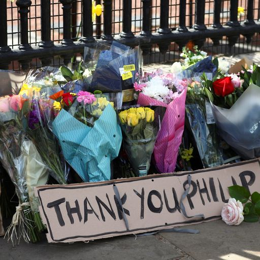 A nation mourns loss of Duke of Edinburgh as public pays their respects