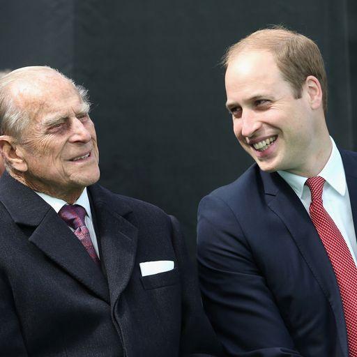 William pays tribute to 'extraordinary' duke
