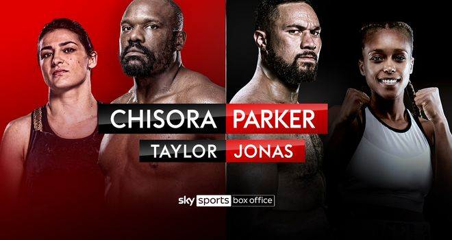 Chisora reignites his heavyweight rivalry with Parker on May 1
