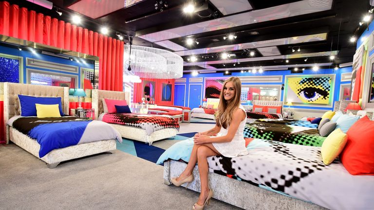 Former housemate Nikki Grahame in the bedroom of the new look Big Brother house in Borehamwood, Hertfordshire before the start of the UK vs USA Celebrity Big Brother this Thursday.