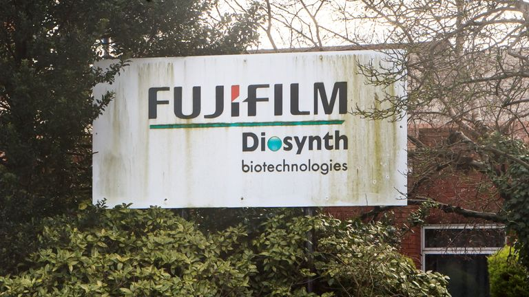 The Fujifilm Diosynth facility in Billingham, Stockton-on-Tees, which will be used as a manufacturing facility for the Novavax COVID- 19 vaccination. Late-stage trials for the vaccine suggest it is 89 percent effective in preventing coronavirus and it is now awaiting approval from the regulator for use in the UK. Picture date: Friday January 29, 2021.