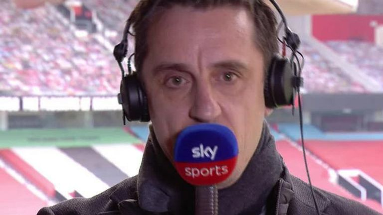 Gary Neville 'disgusted' with Man Utd