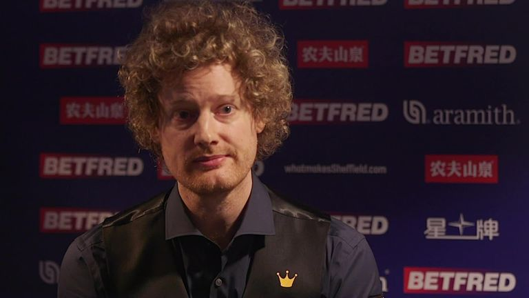 Neil Robertson describes the challenges of playing at the Crucible after he exited this year's tournament
