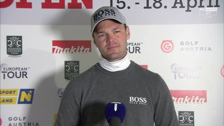 Martin Kaymer assesses his hopes of winning the Austrian Golf Open and says it's only a 'matter of time' before he returns to the winner's circle.