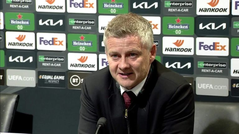 Solskjaer says his players are relishing the chance to finish the season by winning a trophy, after they cruised past Granada to reach the semi-finals of the Europa League