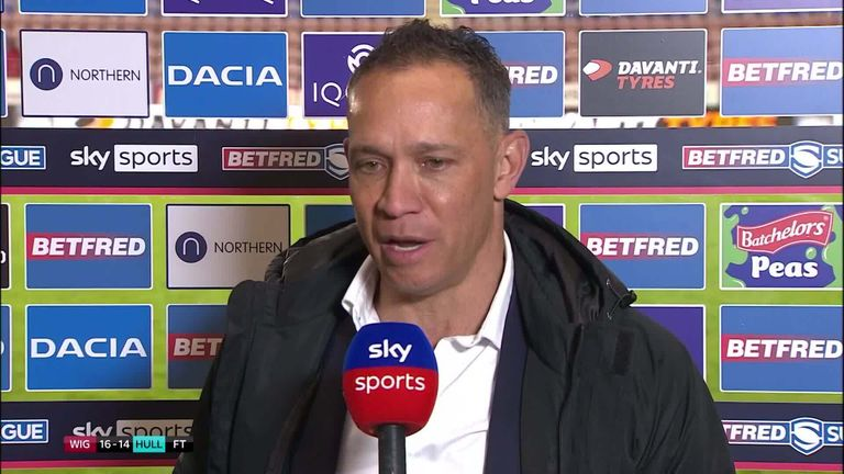 Wigan's head coach Adrian Lam was pleased with the resilience his side showed to overcome Hull FC
