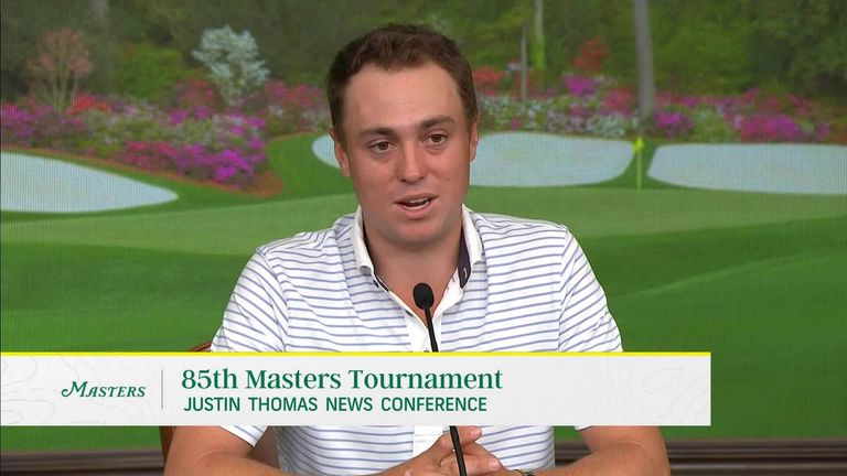 The Masters: Justin Thomas misses Tiger Woods' presence at Augusta National |  Golf news