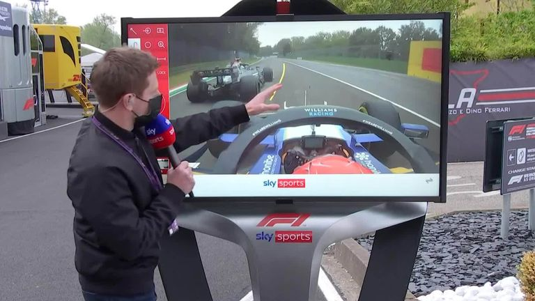 Sky F1's Anthony Davidson was at the SkyPad to analyse the huge crash between George Russell and Valtteri Bottas