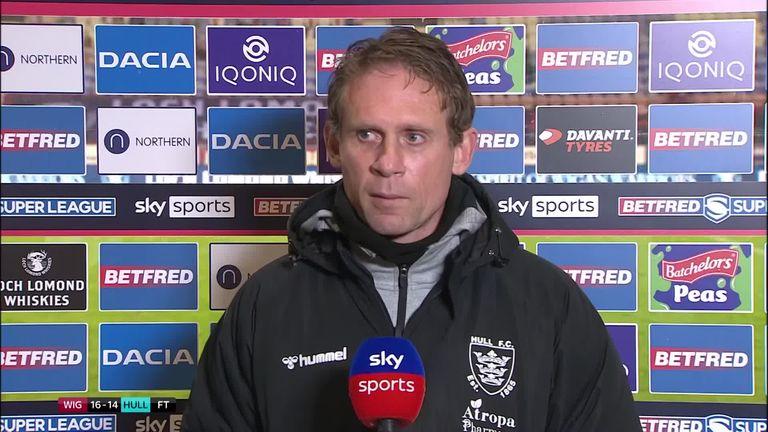 Hull FC's head coach Brett Hodgson felt his side deserved to suffer their first Super League loss against Wigan