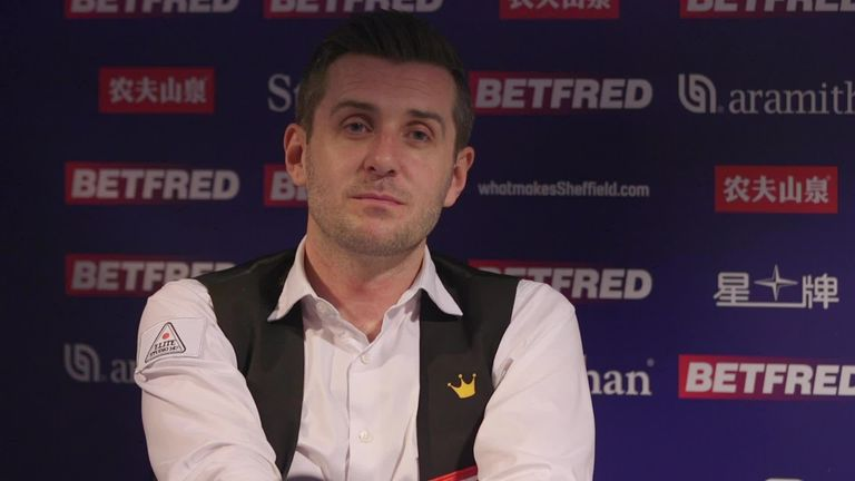 Mark Selby is relishing the iconic one-table setup as he reaches another semi-final