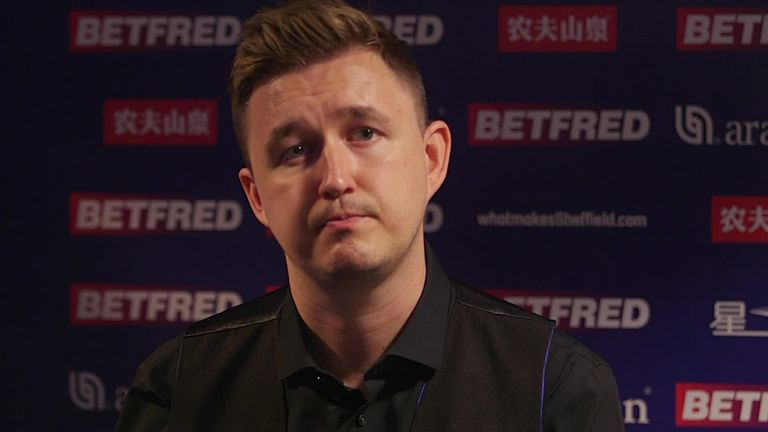 Kyren Wilson stormed into the semi-finals of the World Snooker Championship
