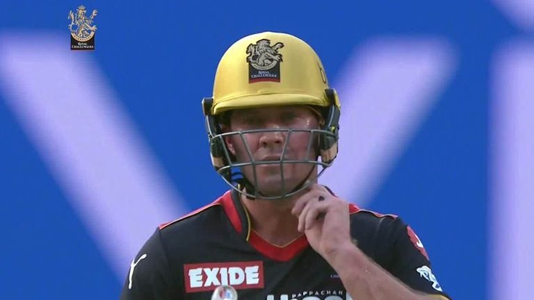 De Villiers blazed an unbeaten 76 from 34 balls as Royal Challengers Bangalore beat Kolkata Knight Riders by 38 runs in the IPL on Sunday