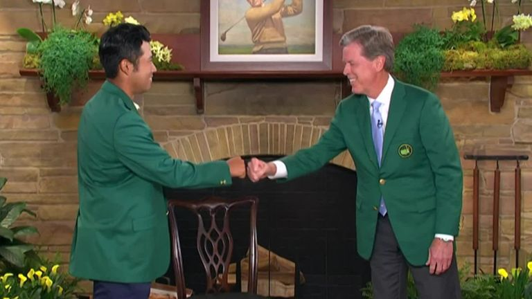 The Masters: Tiger Woods among the players to pay tribute to Hideki Matsuyama after Augusta victory |  Golf news