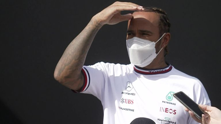 Lewis Hamilton and Mercedes have had a positive start ahead of the Emilia Romagna GP